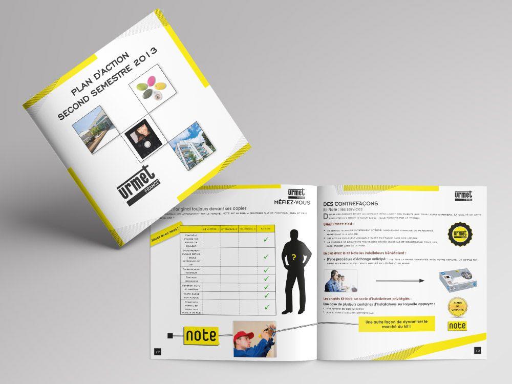 cr ation de brochure 2013 pour urmet france steph webdesign. Black Bedroom Furniture Sets. Home Design Ideas