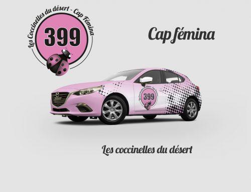 Identité visuelle et logo pour «Cap Fémina»