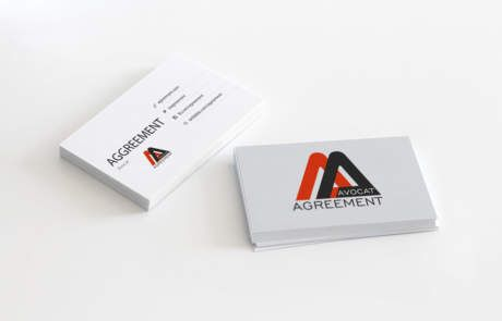 création de logo AGRREEMENT