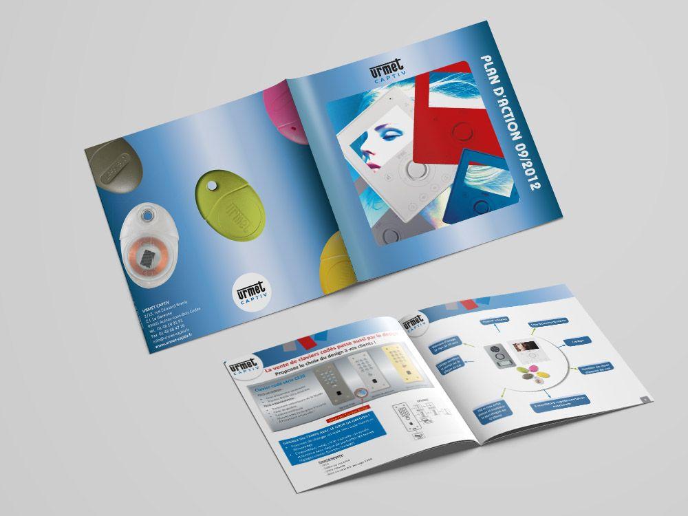 brochure urmet 2012 graphiste 94 steph webdesign. Black Bedroom Furniture Sets. Home Design Ideas