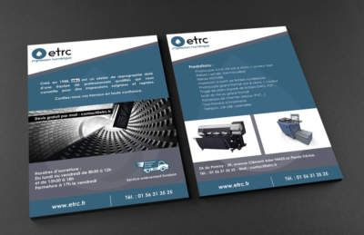 logo et flyer-etrc-graphiste 94-stephanie-sec