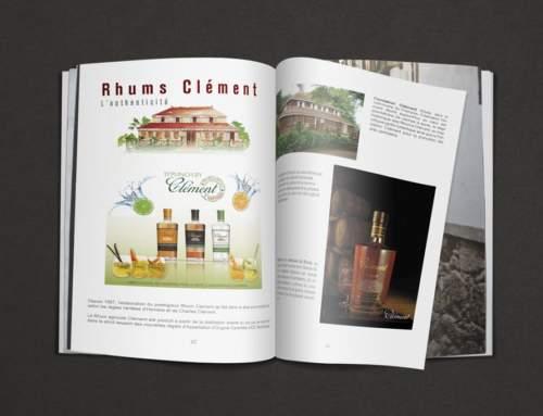 Publicité presse Rhums Clément