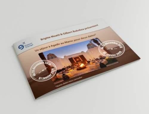 Brochure programme voyage à AGADIR