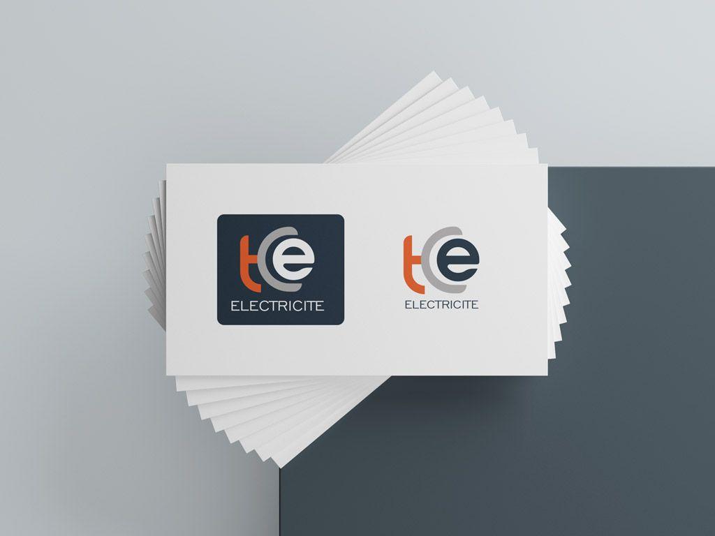 création du logo TCE